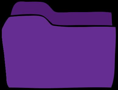 Purple folder - classroom visuals and activities