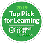 Common Sense Media Top Pick for Learning