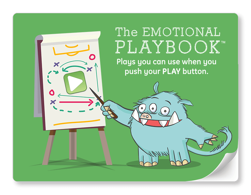 emotional playbook: choosing your reaction to emotions