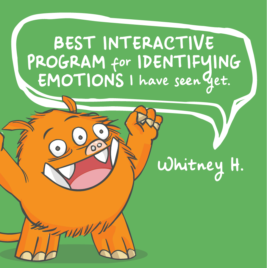 Best interactive program for identifying emotions I have seen yet. Whitney H.