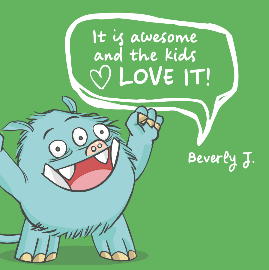 It is awesome and the kids love it! Beverly J.