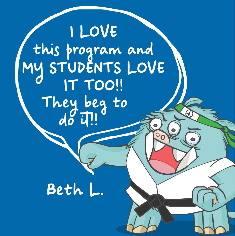 I love this program and my students love it too! They beg to do it! Beth L.