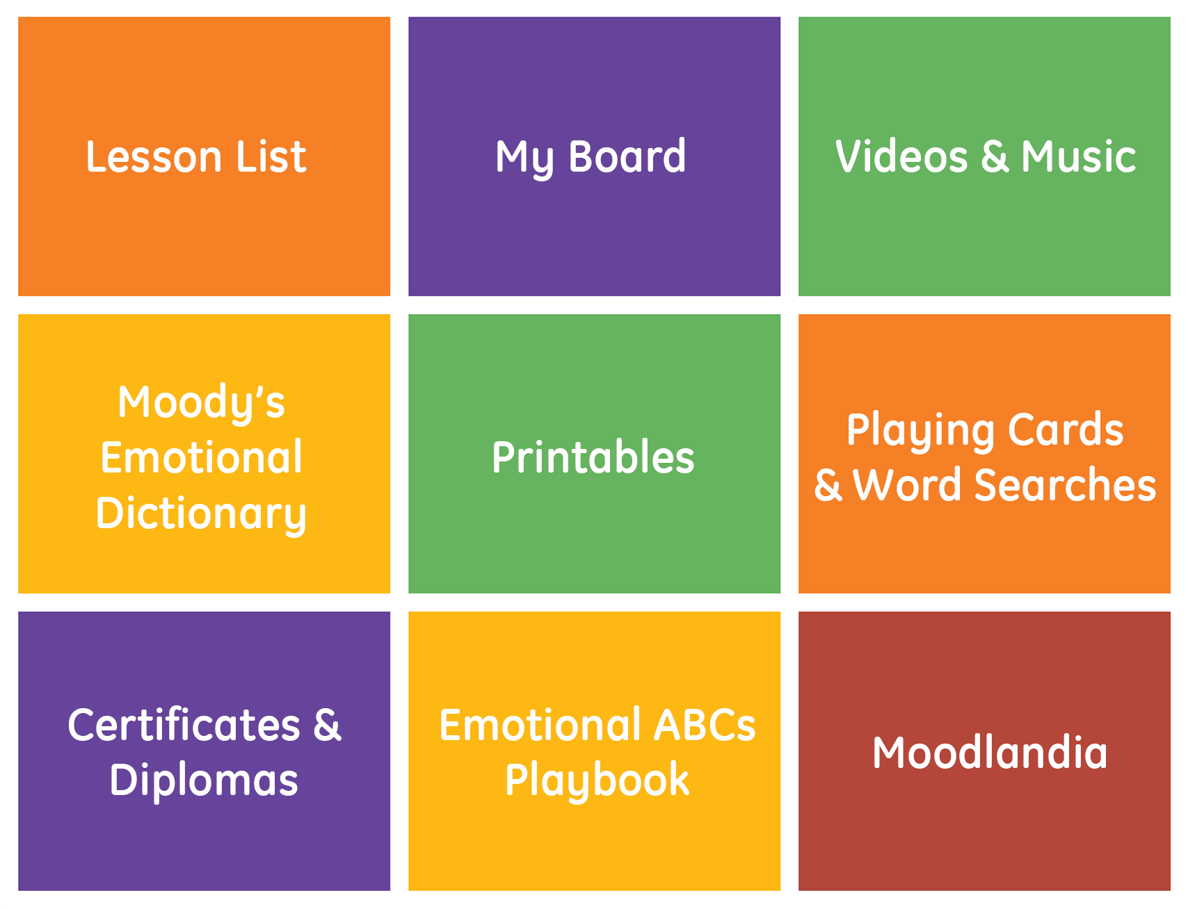 click to learn more about Emotional ABCs interactive content
